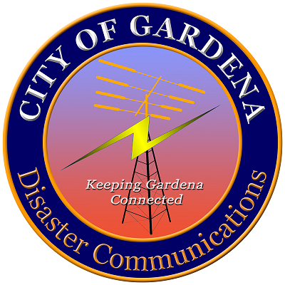 Gardena Disaster Communications Service Logo